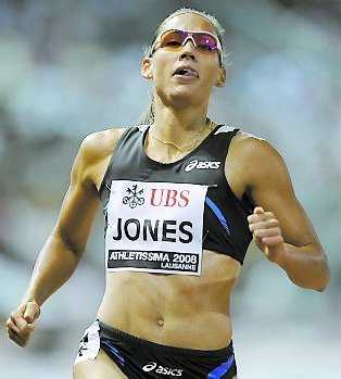 Lolo Jones under tiden som friidrottare.