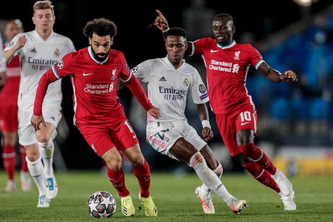 På onsdag tar Liverpool emot Real Madrid på Anfield i kvartsfinalretur i Champions League