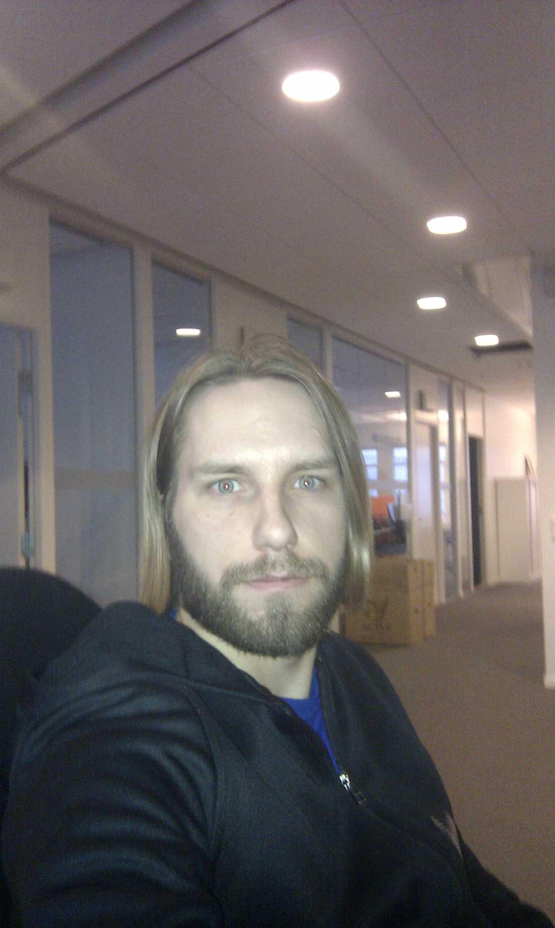 Namn: David Colmander, Favoritlag: Sollentuna AIK
