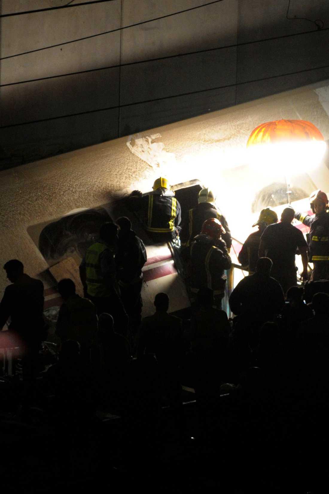 I morse hade dödssiffran stigit till 77 personer.