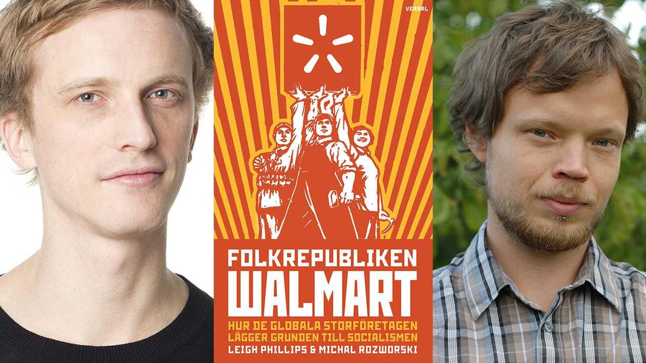 """I veckans Stormens utveckling diskuterar Ola Söderholm """"Folkrepubliken Walmart"""" med Per Björklund."""