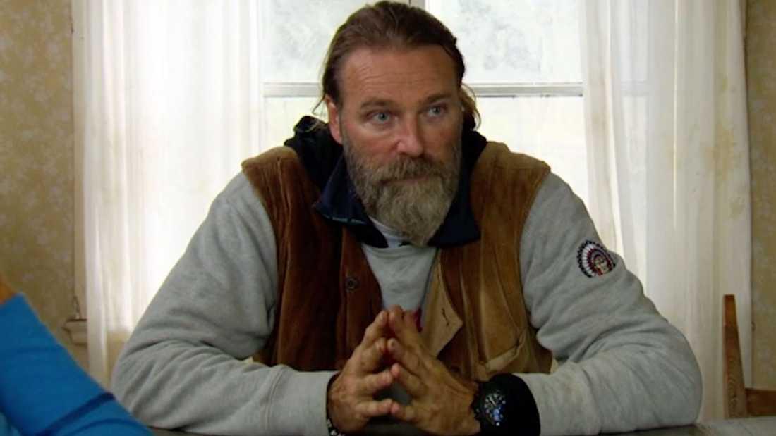 "Patrik Sjöberg i ""Farmen VIP""."