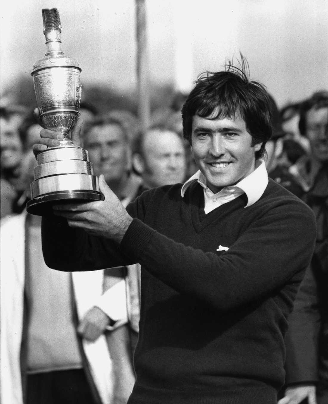 Med segerpokalen i British Open 1979.