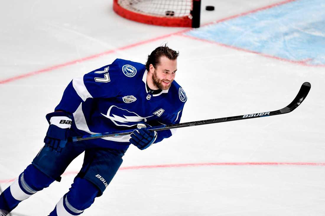 Victor Hedman förbereder sig för en ny NHL-säsong.