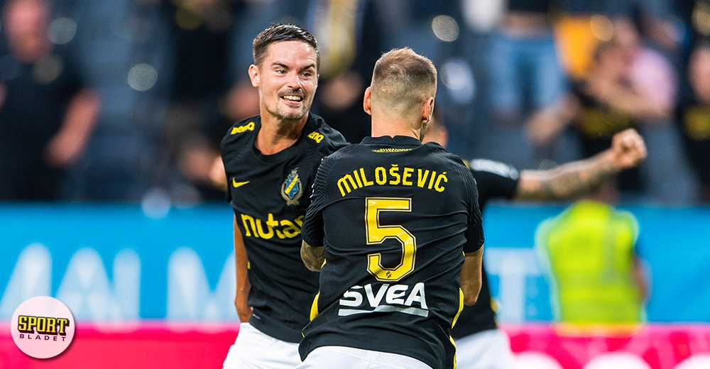 AIK tog andra raka segern – 2–0 hemma mot Kalmar