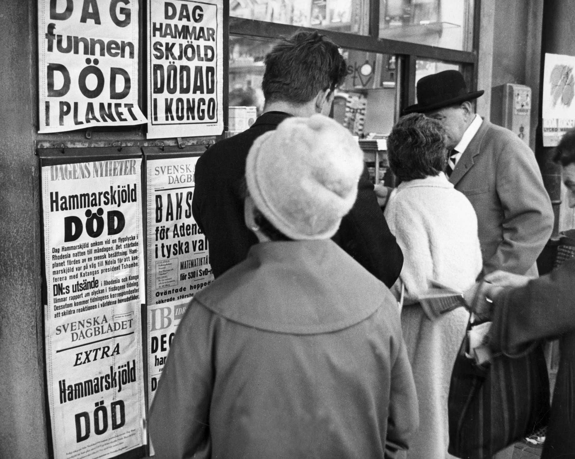 Nytt spår i Hammarskjöld-mysterium