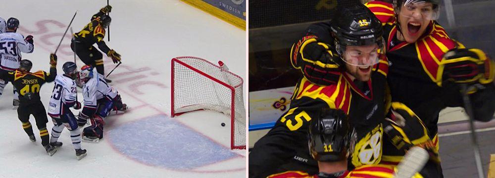Brynäs gjorde mål – efter 96 minuter