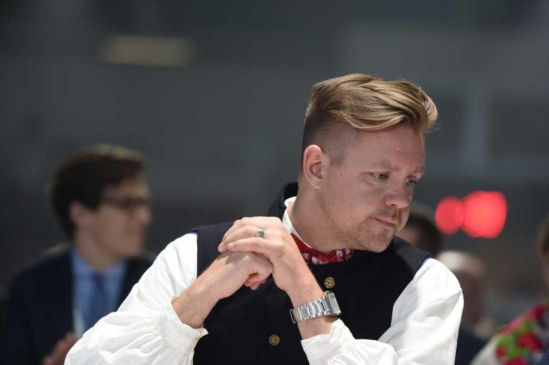 EU-parlamentsledamoten Fredrick Federley (C). Arkivfoto.