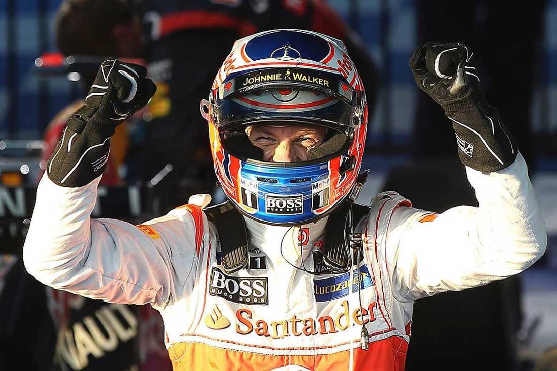 Jenson Button, mästare 2009.