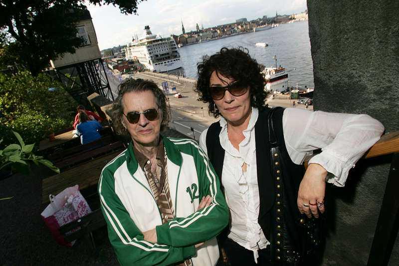 Stig Vig och Stina Berge i september 2006.