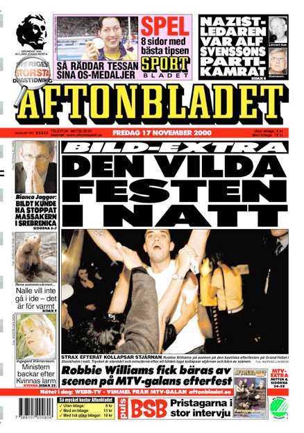 Aftonbladet 17/11 2000.