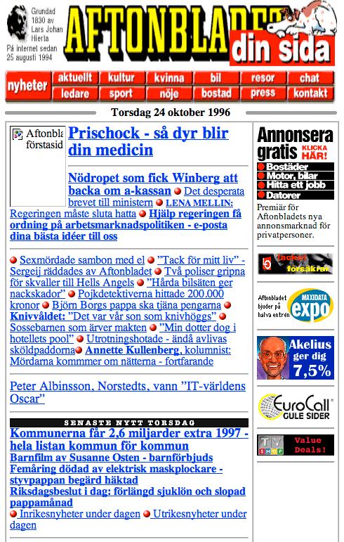 Aftonbladet 1996.