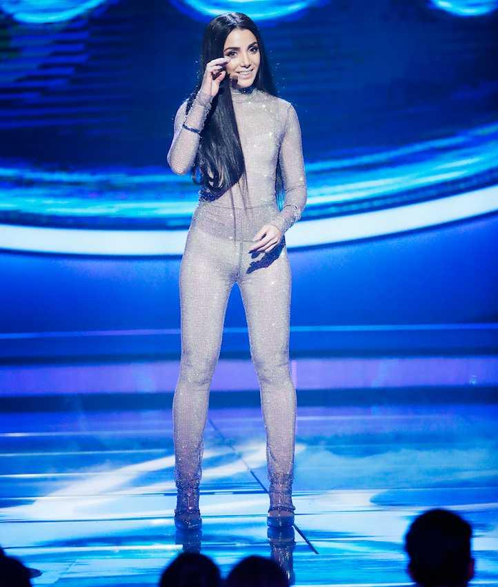 Gina Dirawis outfit den 29 september.