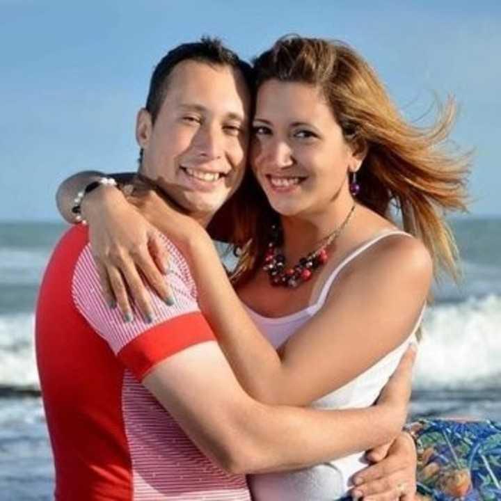 Oscar Suárez och hans fru María Itatí Leguizamón