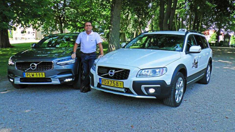 Magnus Lloyd som driver Lloyds taxi i Ystad blev lurad på flera hundra kronor.