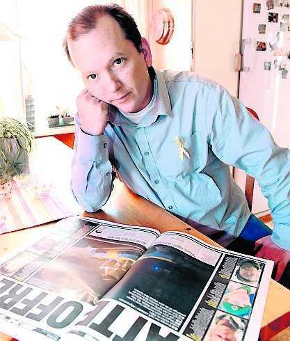 Patric Rasmussen tjänstgjorde med Kenneth Wallin i Afghanistan.