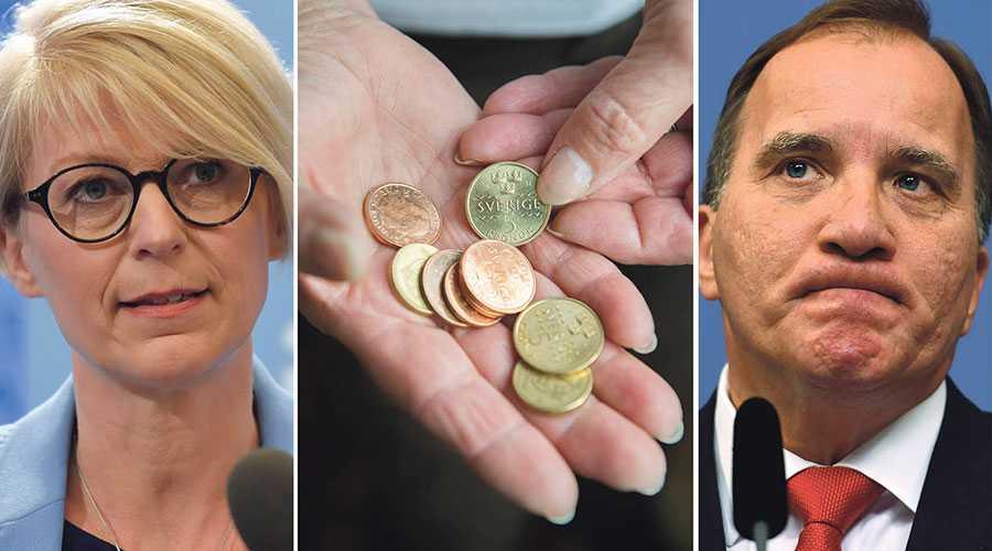 Stefan Löfven har lovat att fortsätta sänka skatten för pensionärerna om S vinner valet. Deras löfte är dock bara cirka hälften av vårt, skriver Elisabeth Svantesson.