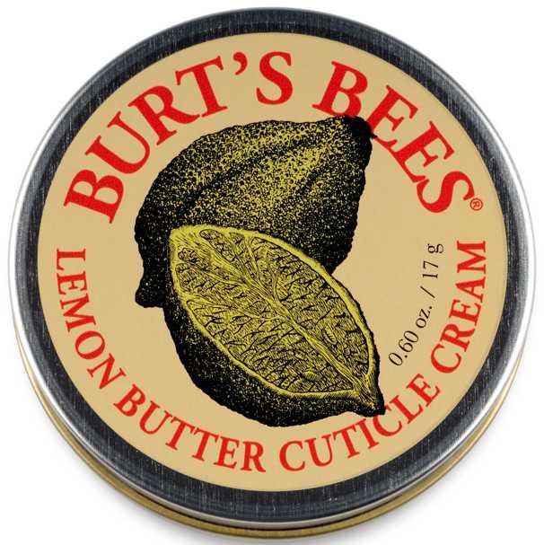 """Nagelbandskräm, """"Lemon butter cuticle cream"""" från Burt's Bees, 79 kronor."""