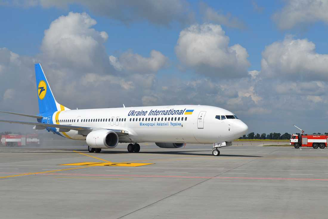 3. UKRAINE INTERNATIONAL AIRLINES (36,3 p)
