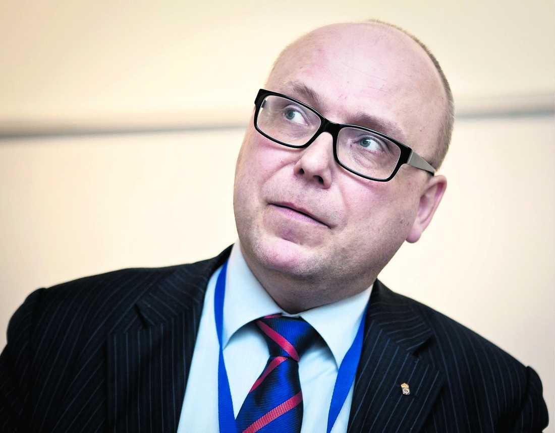 Magnus Ranstorp, forskningschef vid Centrum för asymmetriska hot- och terrorismstudier (CATS) vid Försvarshögskolan.