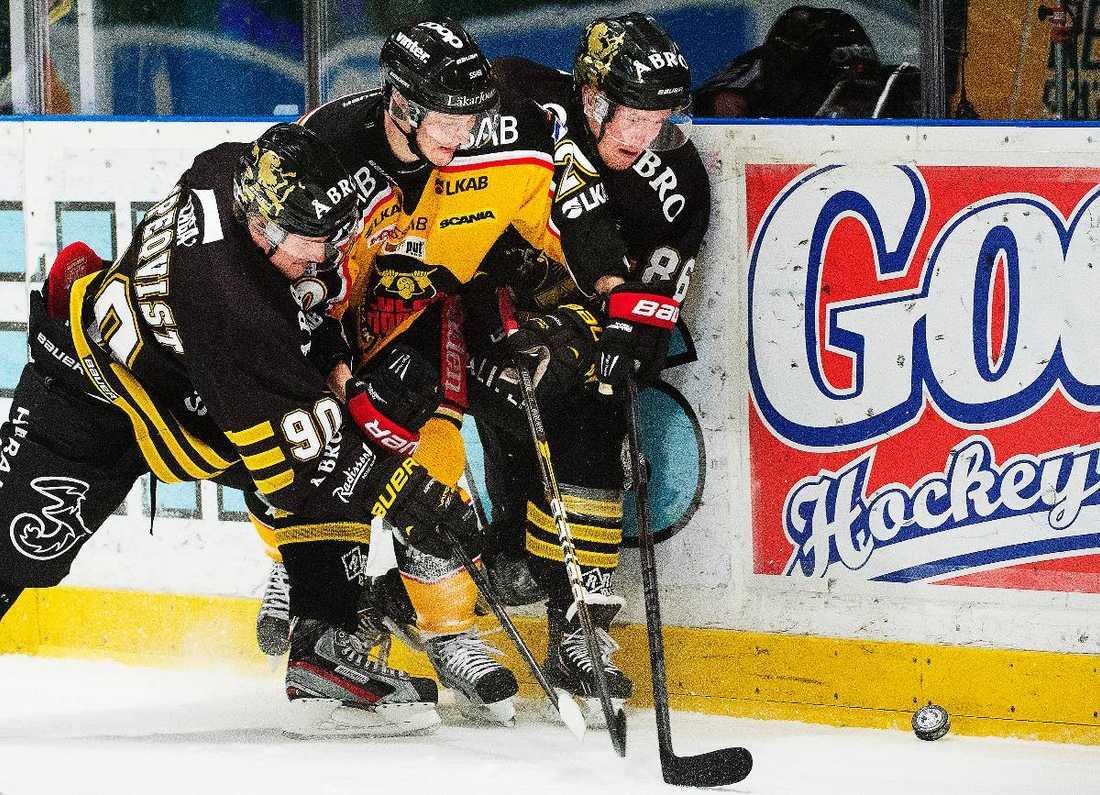 DÅLIG SÄSONG  Elitserien har tappat i publik och fått negativ publicitet under den pågående säsongen. Nu funderar Hockeyligan på förändringar till säsongen 2014/15.