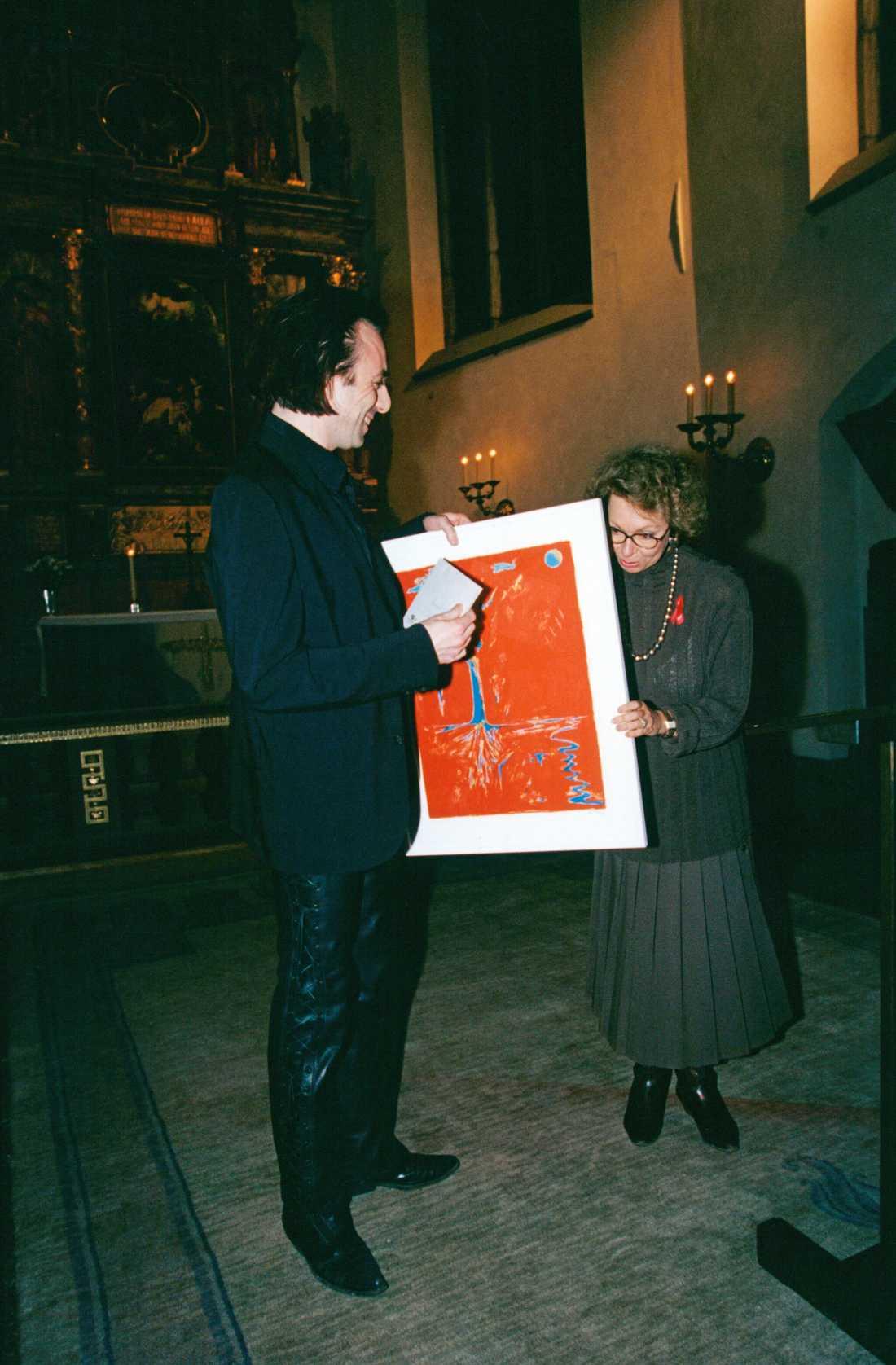 Med prinsessan Christina 1993