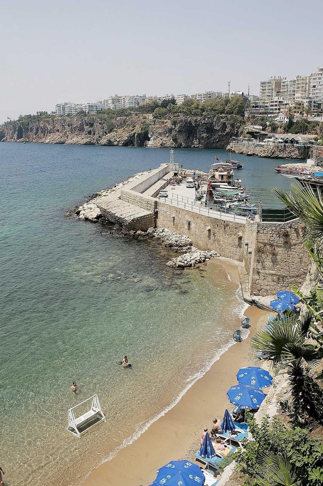 Antalya i Turkiet - dit Fredrik och Filippa Reinfeldt åkt.