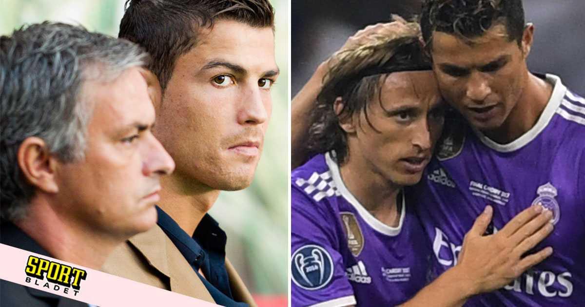 Modric avslöjar: Mourinho fick nästan Ronaldo att gråta