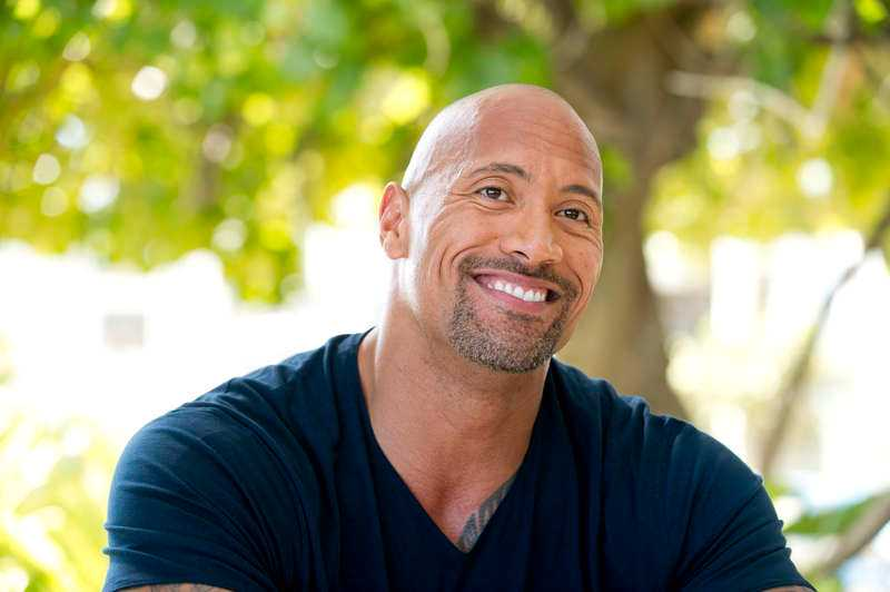"Dwayne ""The Rock"" Johnson."