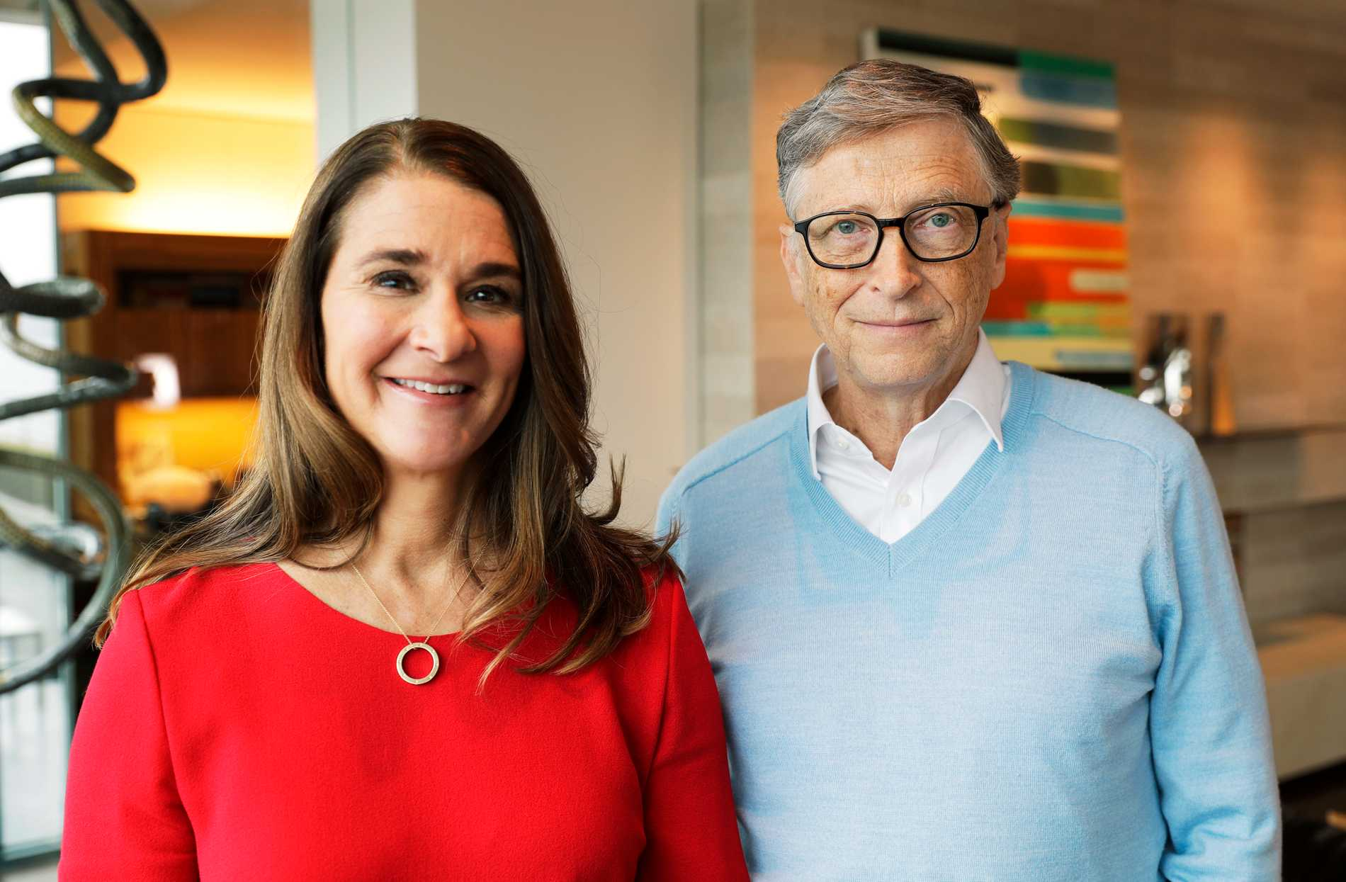 Melinda och Bill Gates.