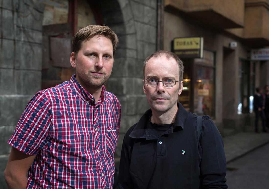 Nöjesbladets reporter Joni Nykänen och fotograf Thomas Johansson var på plats i Studio Fares i Trollhättan.
