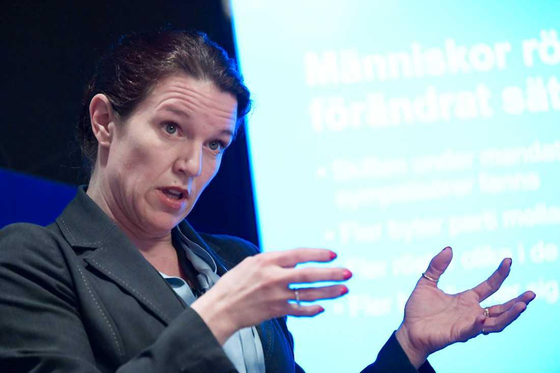 Lina Nordquist, sjukvårdspolitisk talesperson för Liberalerna. Arkivbild.