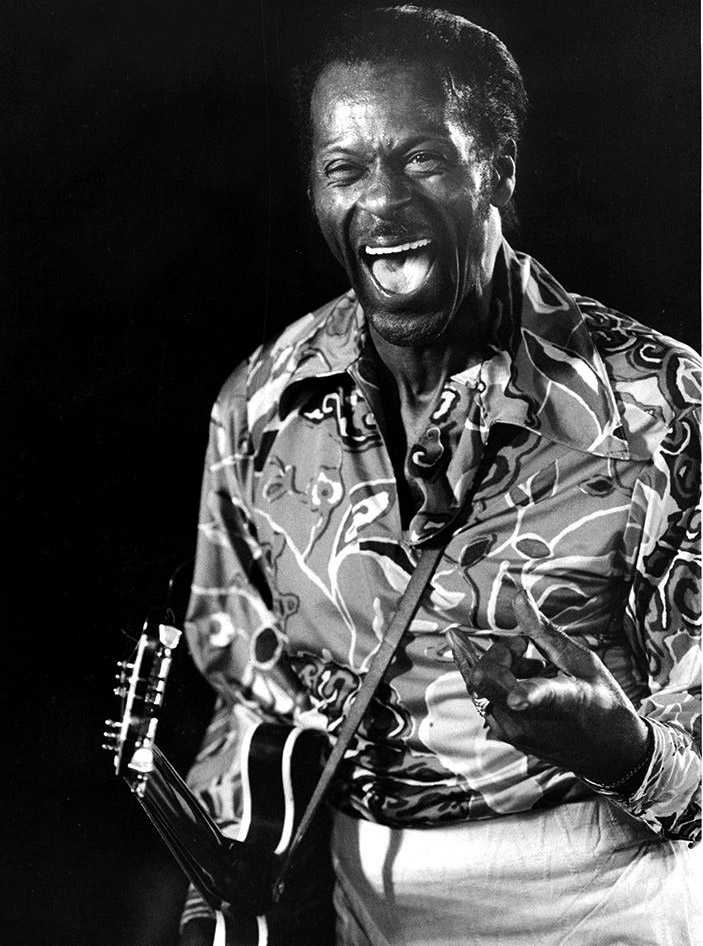 Chuck Berry i Sverige 1987.