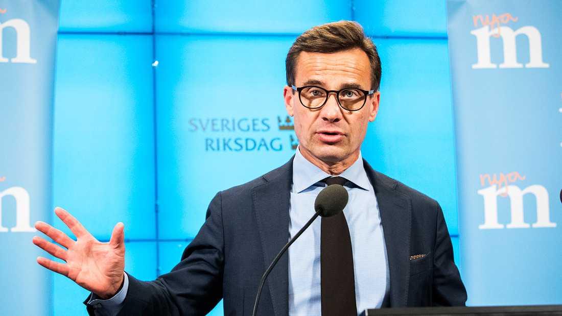 Ulf Kristersson (M).