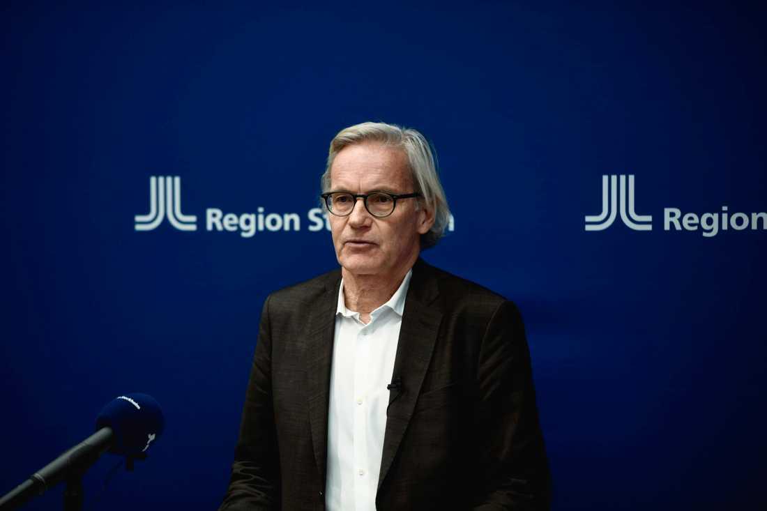 Johan Bratt, tillförordnad hälso- och sjukvårdsdirektör för Region Stockholm.