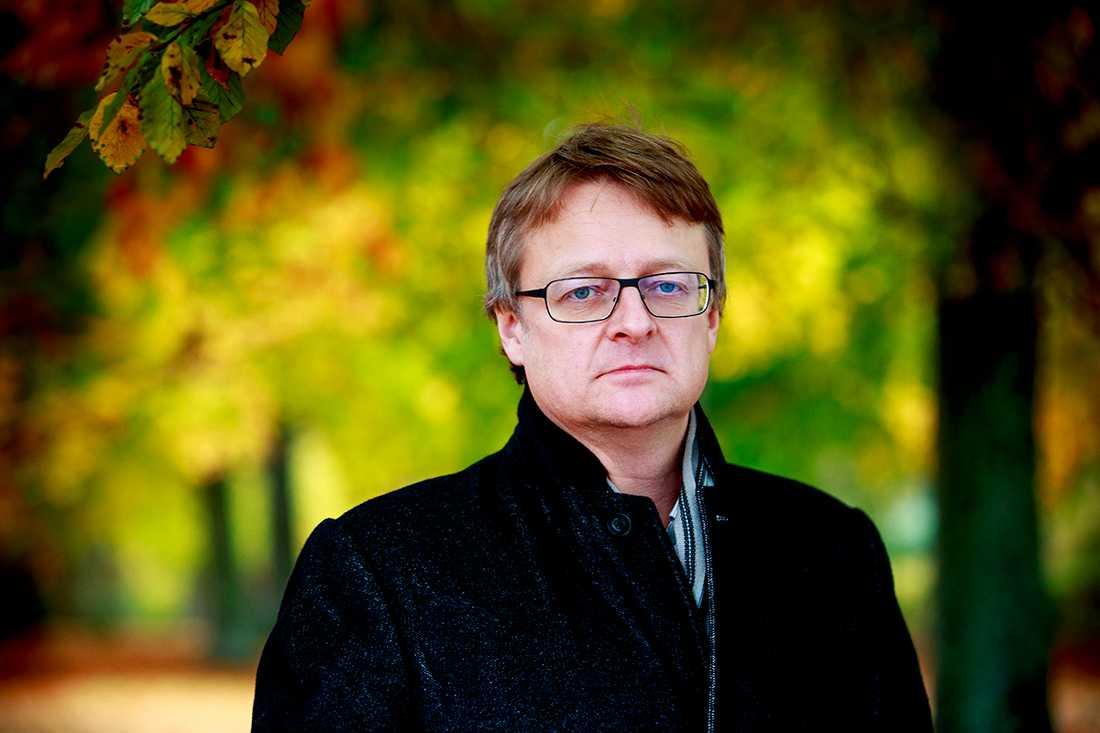 """Dan Josefsson började skriva på sin bok """"Mannen som slutade ljuga"""" vintern 2012 – efter Hannes Råstams begravning."""
