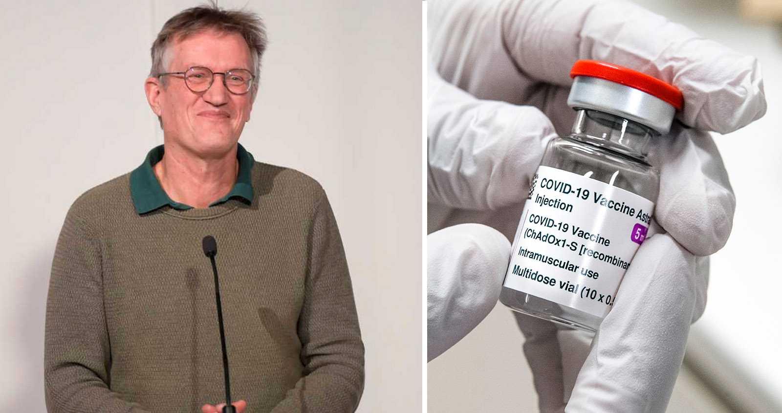 Anders Tegnell vaccinerad med Astras vaccin