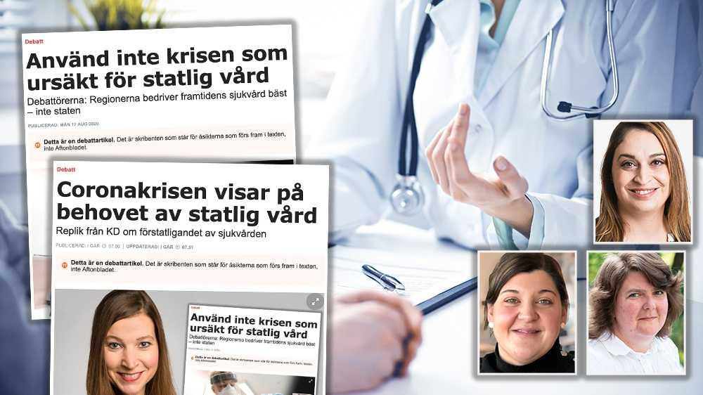 Närhetsprincipen måste vara fortsatt vägledande för en god och jämlik sjukvård, skriver Kaisa Karro, Rachel De Basso och Angelica Katsanidou.
