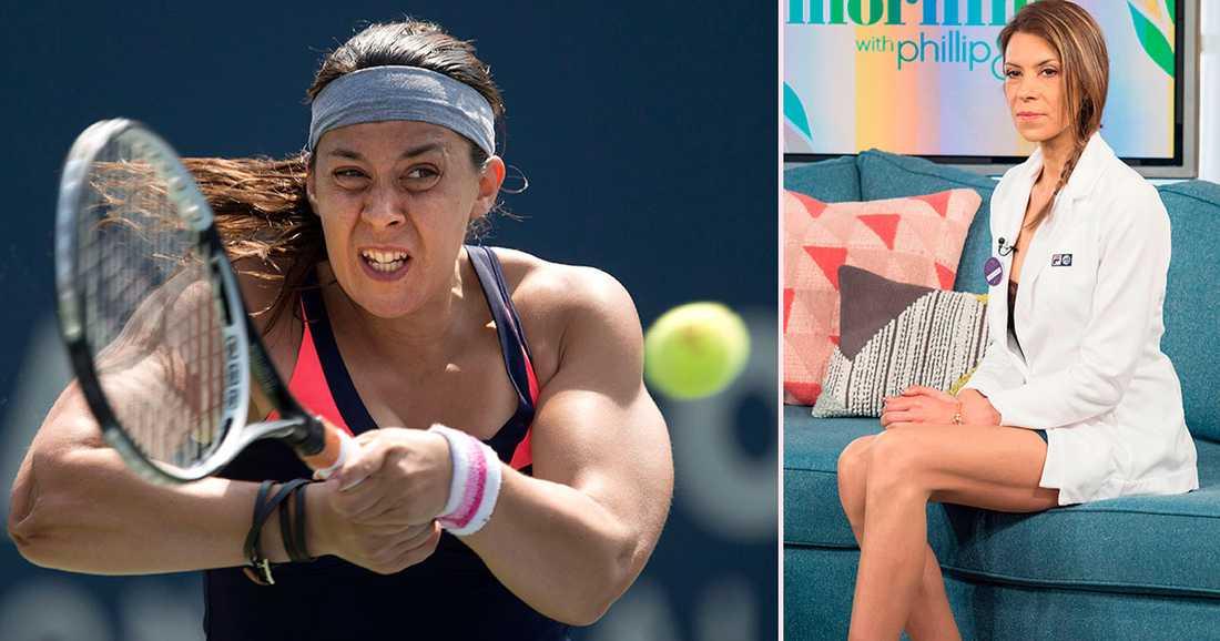 Förvandlingen 2013 tillhörde Marion Bartoli världseliten (till vänster), och så här ser hon ut i dag (till höger).
