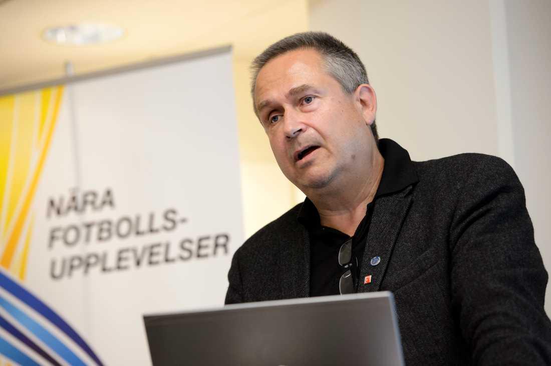 Mats Enquist, generalsekreterare i Svensk elitfotbol.