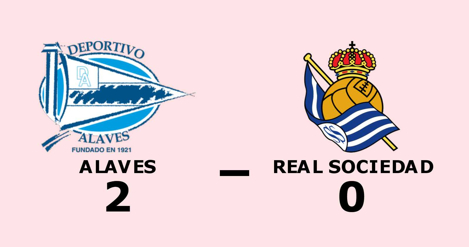 Aguirregabiria och Sainz sänkte Real Sociedad