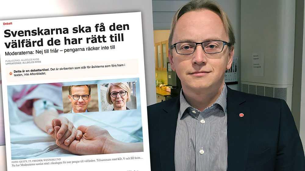 Att Ulf Kristersson – trots att han visat sig oförmögen att bilda regering – nu tar hjälp av hoppande majoriteter för att i efterhand plocka isär beslutade budgetar medför stora risker för Sverige, skriver  Fredrik Olovsson (S).