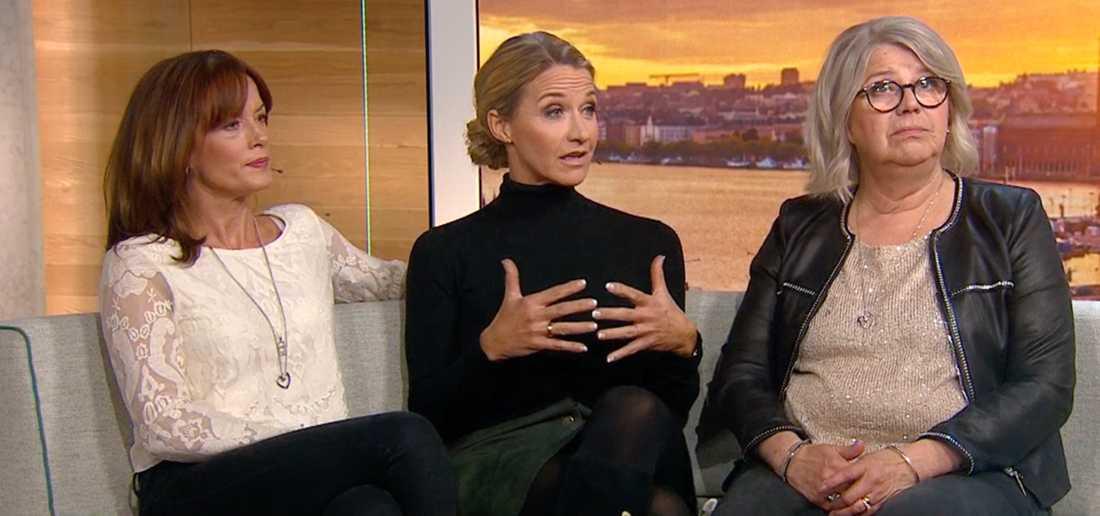 Malin Berghagen, Kristin Kaspersen och Monica Svensson
