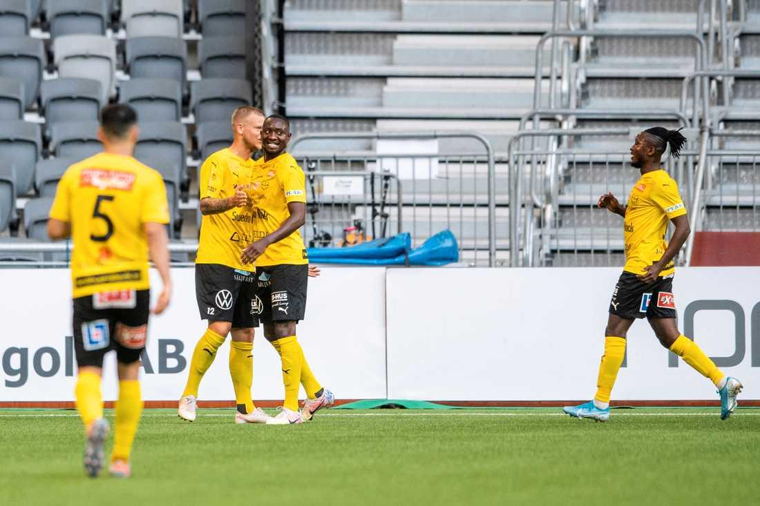 Moses Ogbu gjorde mål.