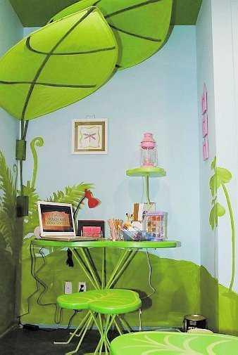 """""""Extreme home makeover"""" har inspirerat svenskarna till fantasifulla inredningar. Här ett barnrum ur programmet."""