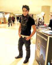 Raed Al-Dehish, 21, Göteborg.