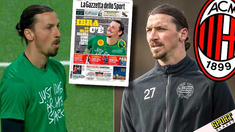 """Pedersen när Zlatan dök upp: """"Vad i helvete"""""""