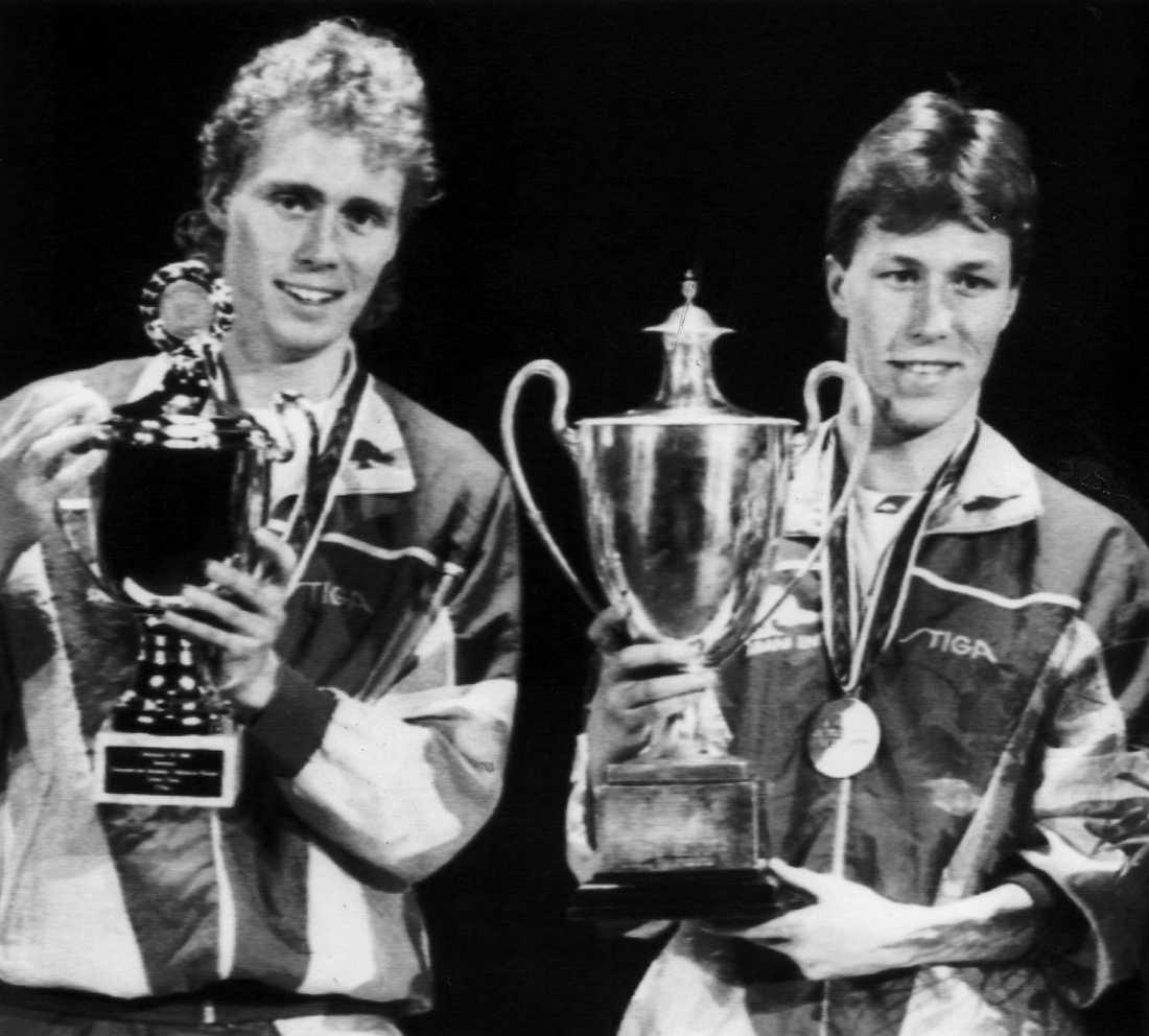 JO slog Jörgen Persson i VM-finalen i singel 1989.