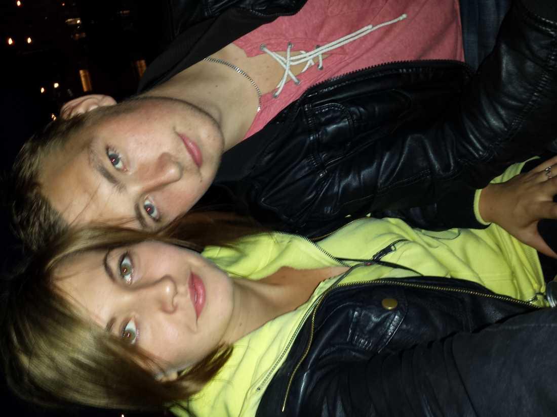 Älskling och jag på båttur i Göteborgs