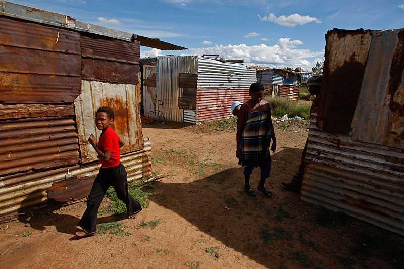 Missförhållandena på Sydafrikas landsbygd är enorma.